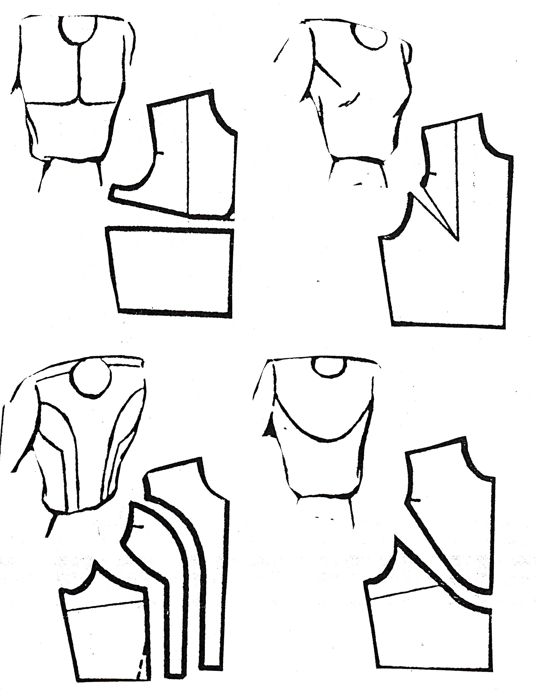 Advanced bodice pattern cutting - Jane White Tuition