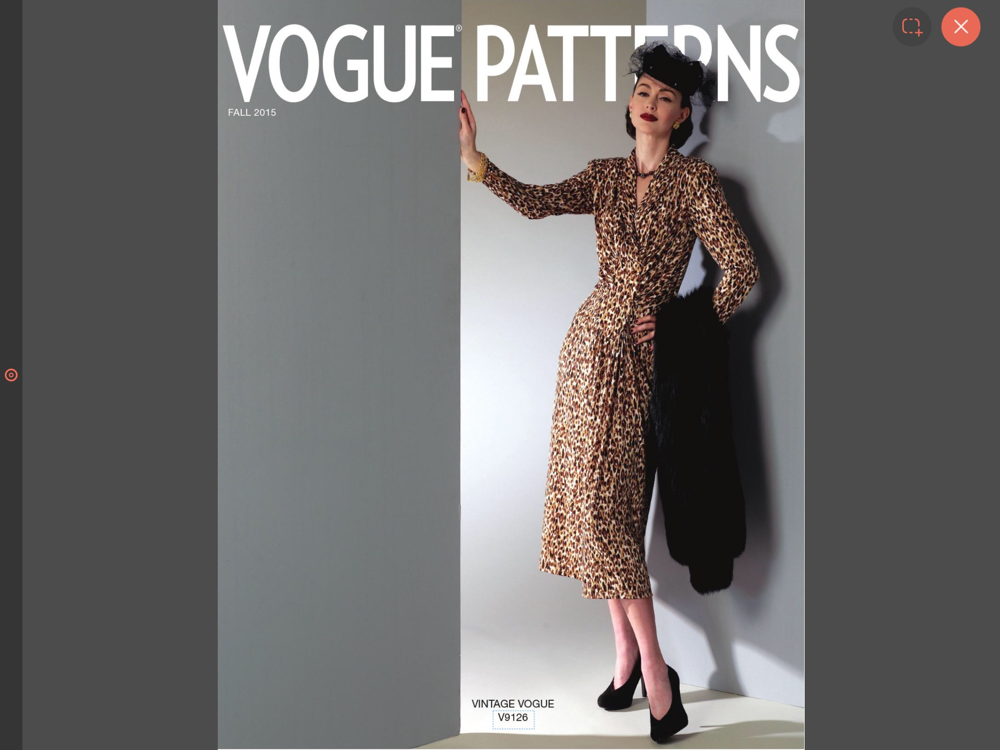 Vogue patterns - Jane White Couture Tuition