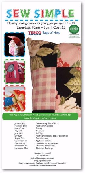 Sew Simple at The Ropewalk