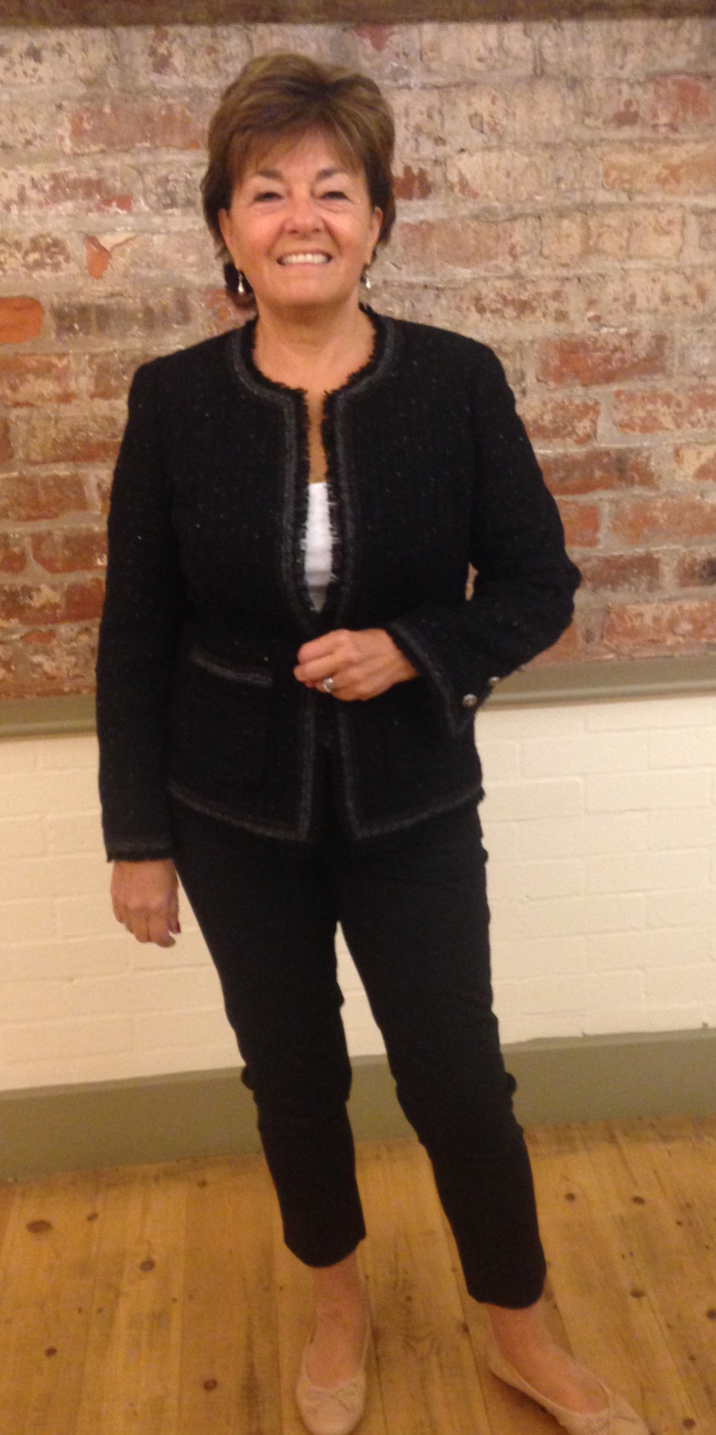 Chanel style jacket course - Jane White Couture Tuition