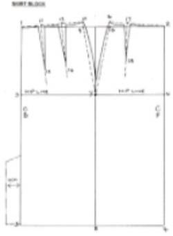 Skirt block diagram - Jane White Tuition