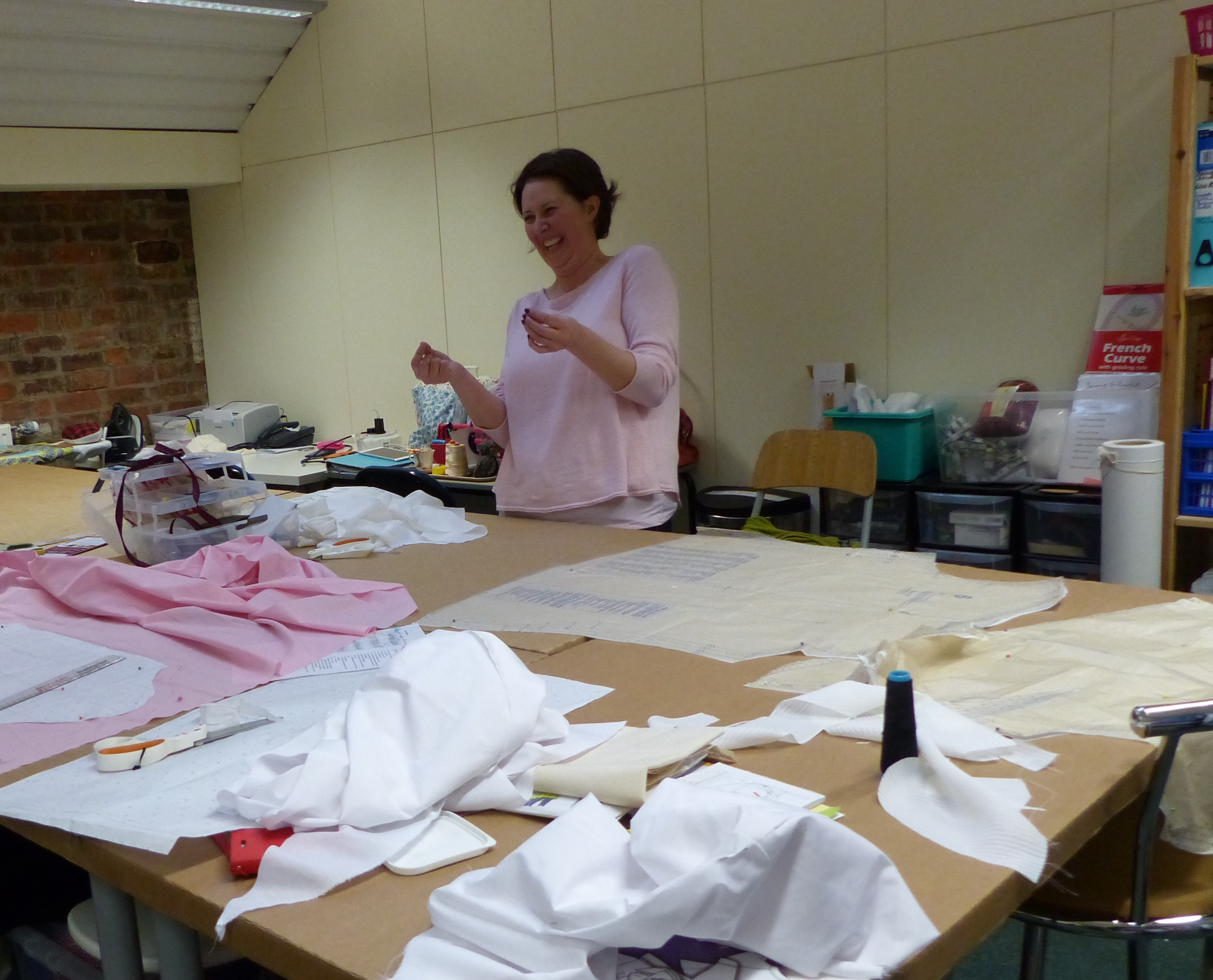 Deana at Jane White Couture Tuition