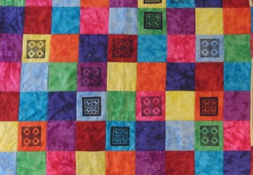 Patchwork quilt - Jane White Tuition