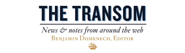 The Transom: News and Notes From Around the Web