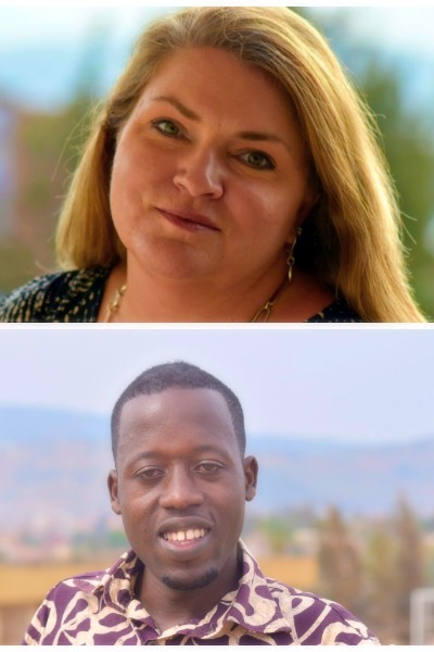 Meet Executive Director Melissa Driver Beard and Assistant Production Manager Eric Ndayishimye