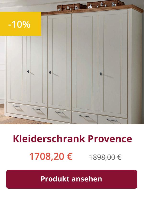 Kleiderschrank Provence 5-türig
