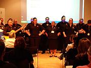 Maoris singing