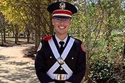 Christopher Lewis in Uniform