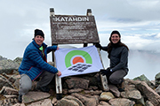 Antonio Ranieri on Mount Katahdin