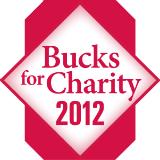 Red Block O Bucks for Charity 2012 logo