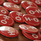 O-H Campus Campaign Buttons