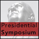 Presidential Symposium - William Oxley Thompson statue face