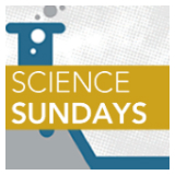 Science Sundays Banner with beaker in background