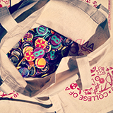 2013 College of Arts and Sciences bags/buttons