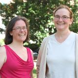 Helen Chamberlain and Adriana Dawes