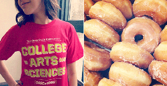 Donuts with the Dean