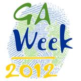 Geography Awareness Week 2012 - Globe Thumbprint