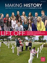 Making History, 2013 No. 55 Cover