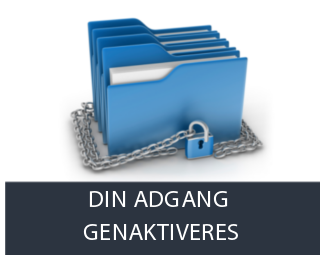 Din adgang aktiveres - for en sikkerheds skyld!