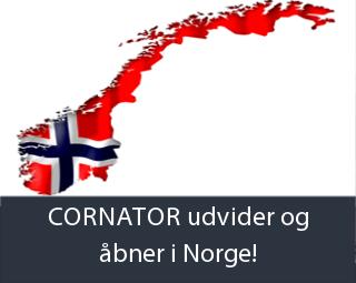 CORNATOR udvider og åbner i Norge