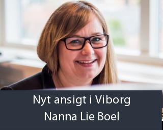 Nyt ansigt i Viborg - Nanna Lie Boel