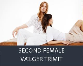 Second Female vælger TRIMIT Fashion & CORNATOR