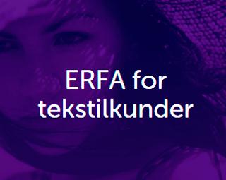 ERFA for tekstilkunder