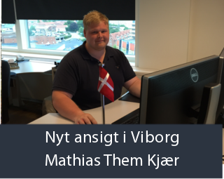 Nyt ansigt i Viborg - Mathias Them Kjær