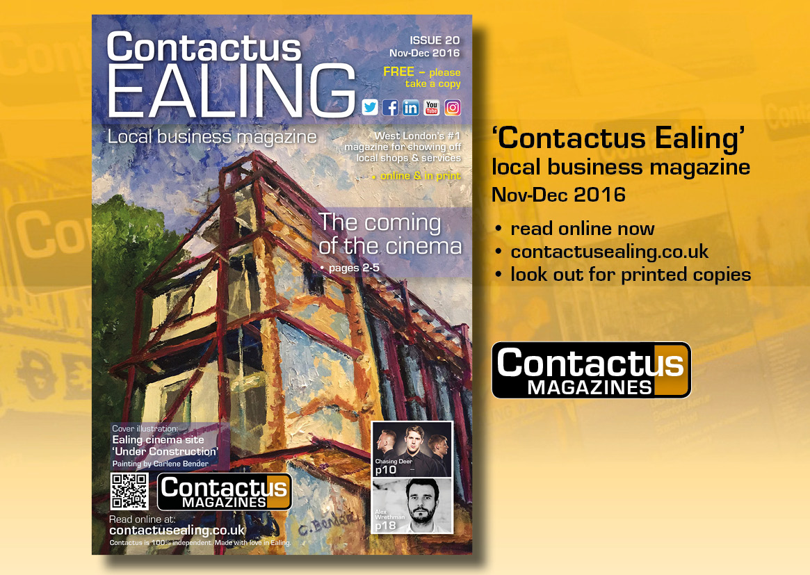 Contactus - local magazines for Ealing