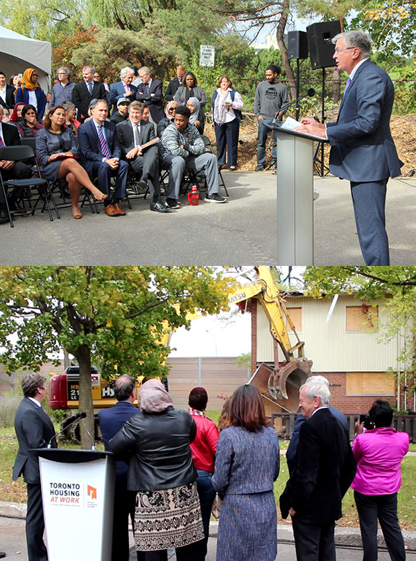 Highlights from the launch of Phase 1 of the Lawrence Heights Revitalization project.