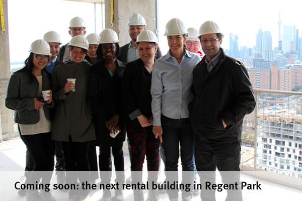 Coming soon: the next rental building in Regent Park