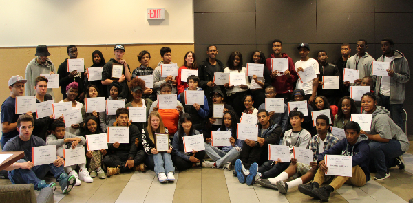 YouthWorx participants receive awards for good citizenship, mentoring, collaboration and exceptional customer service.