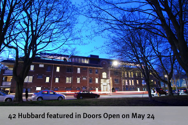 42 Hubbard featured in Doors Open on May 24