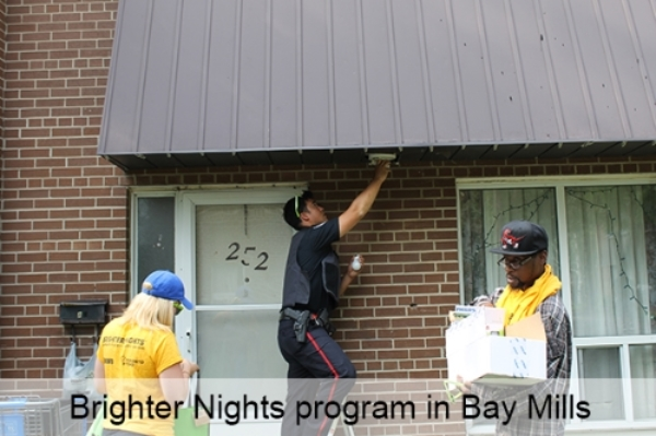Brighter Nights program in Bay Mills