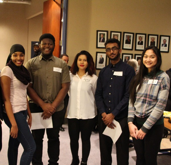 Future applicants attend the Investing in our Diversity launch to learn more about the program.