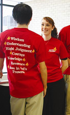 Confirmation t-shirts