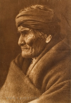Geronimo, Edward S. Curtis