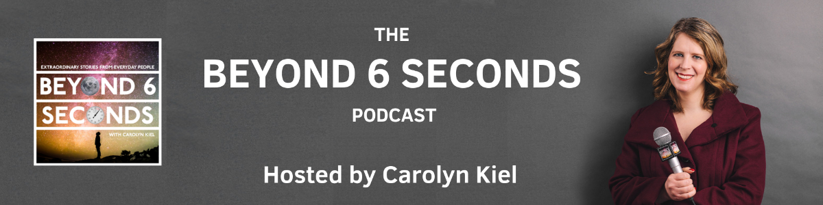 Beyond 6 Seconds podcast banner