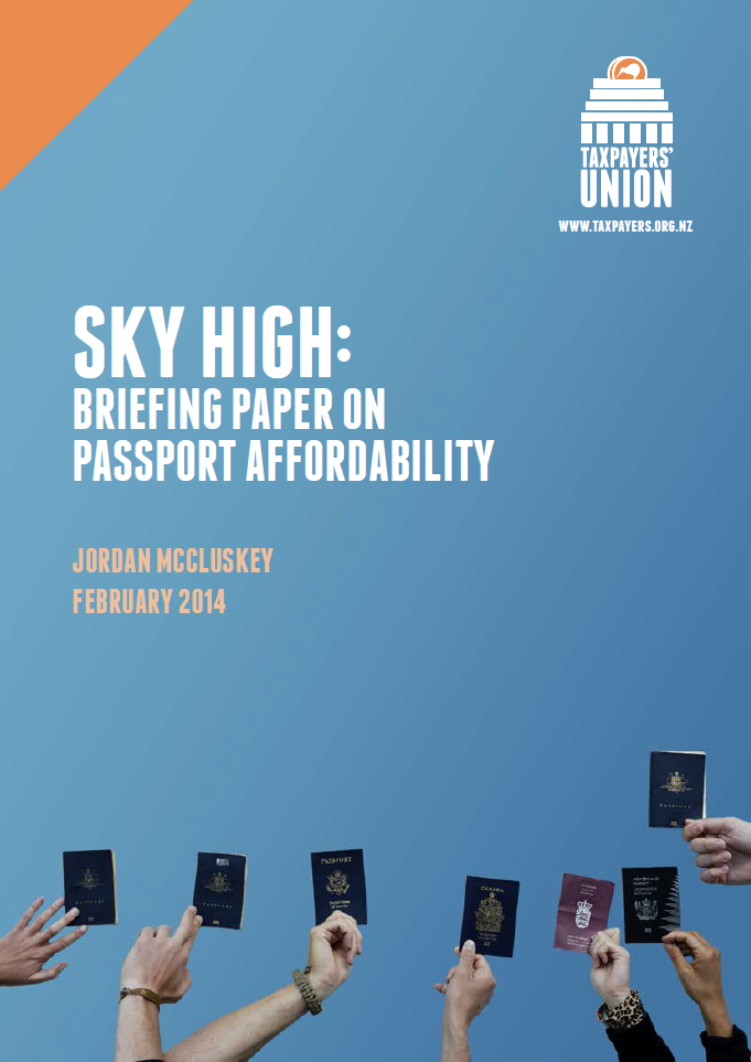Sky High briefing paper on passports
