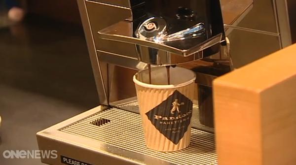 Seven Sharp on Transpower cafe