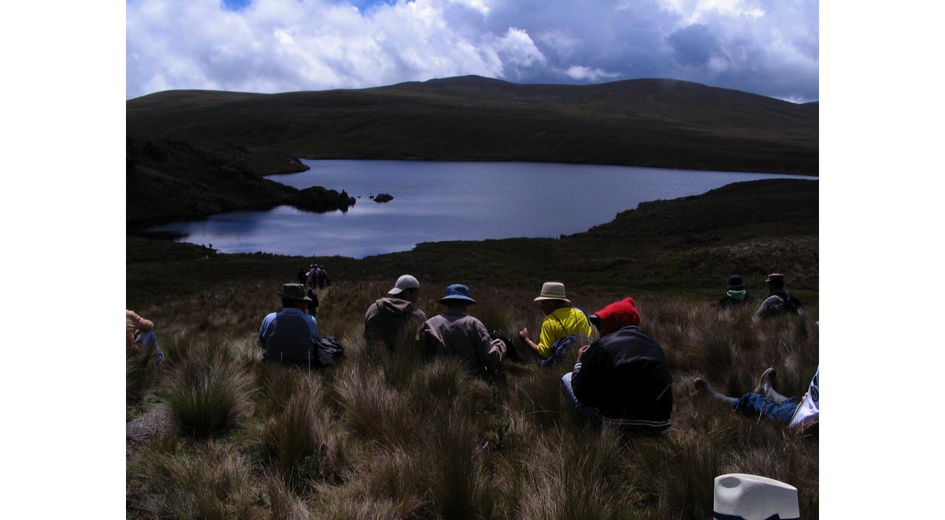 Páramos of Kimsacocha, province of Azuay, Ecuador; Photo: MiningWatch Canada