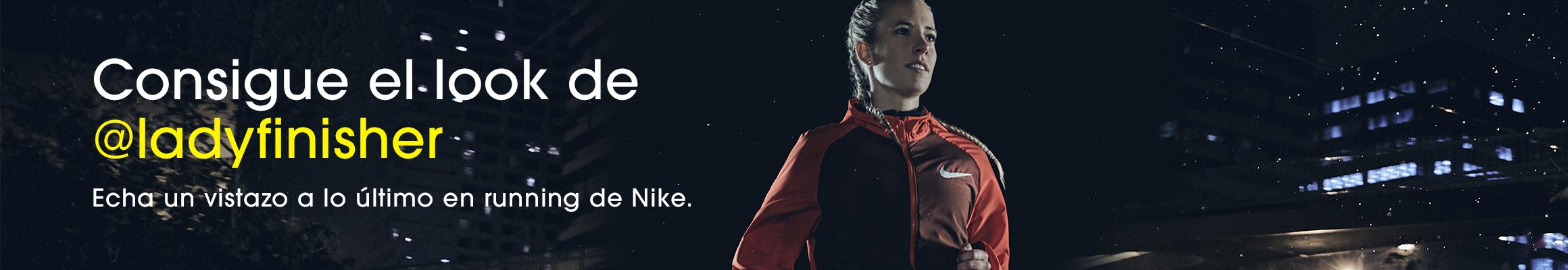 Lady Finisher - Nike Ambassador for Sprinter