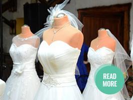Bridal pop up sale