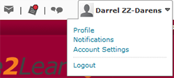 Select Notifications, located under your name in the top left of the screen, to change your settings.