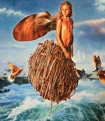 Fiore di Mare - opera di Josè Molina in vendita presso la Galleria Deodato Arte