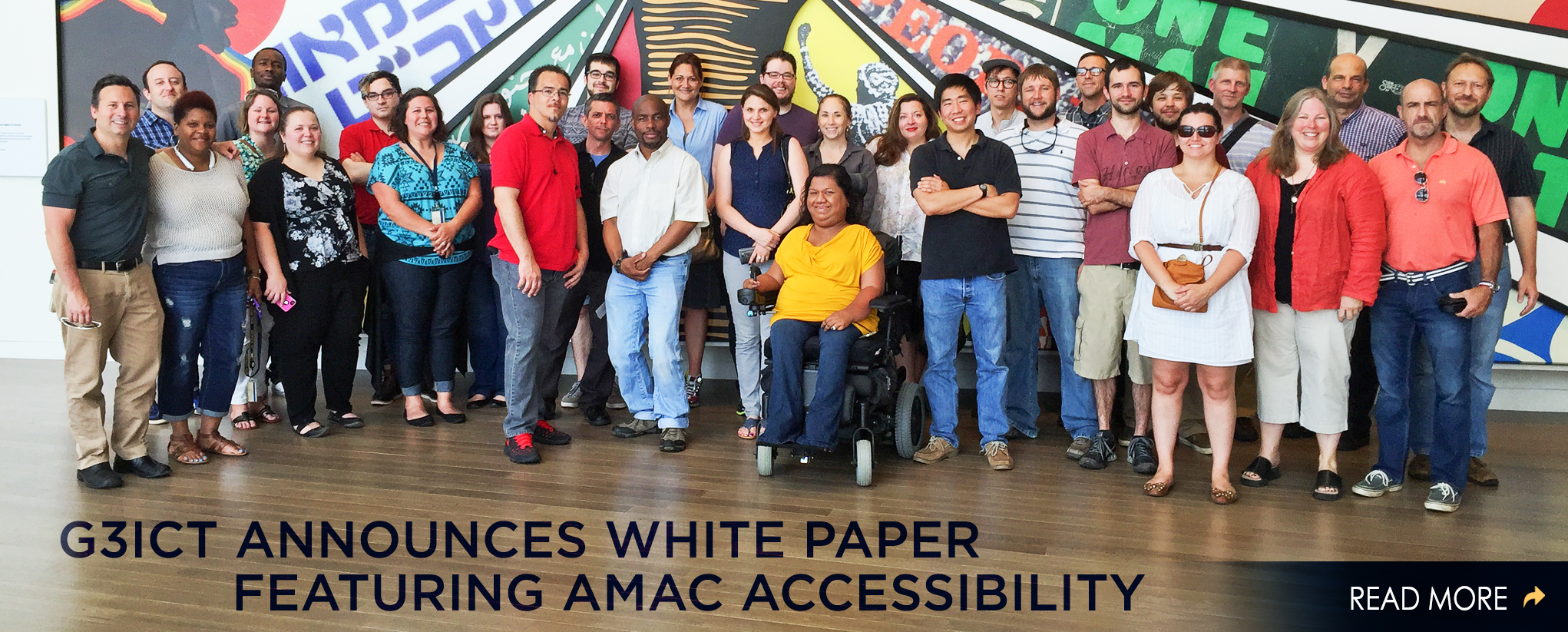G3ICT Announces White Paper Featuring AMAC Accessibility