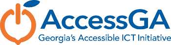 AccessGA logo: Georgia's Accessible ICT Initiative