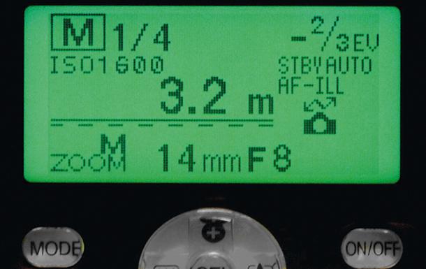 speedlight display