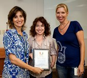 Shelly & Sylvia receives award