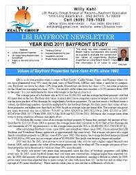 LBI Bayfront Newsletter Winter 2012